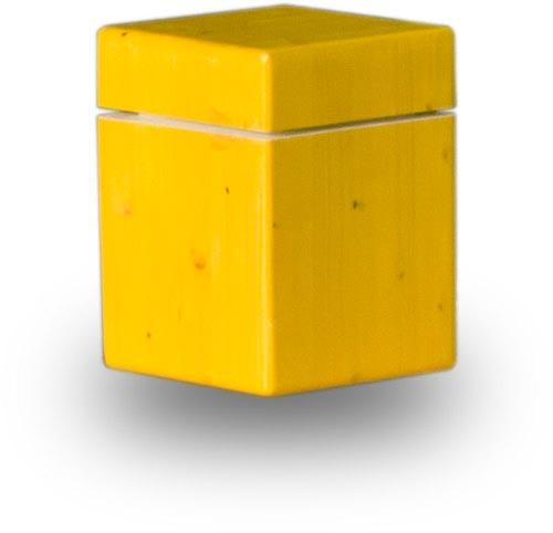 Die Urne SUBN auf weißem Untergrund